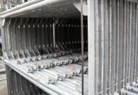 44 m² gebrauchtes Layher Blitz Gerüst