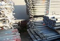 157m² gebrauchtes Layher-Blitz-Gerüst