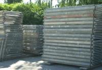 612 m² gebrauchtes Hünnebeck Schnellbau