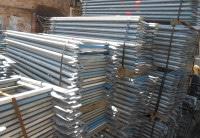 Doppelgeländer 2,07m Stahl Layher Blitz gebraucht auf geruest.com kaufen