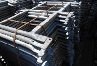 Doppelgeländer 0,73m Stahl Layher Blitz gebraucht auf geruest.com kaufen