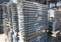 Doppelgeländer 1,09m Stahl Layher Blitz gebraucht auf geruest.com kaufen