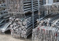Gerüst Hünnebeck Modex m. Stahlböden gebraucht auf geruest.com kaufen