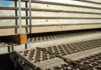 Gebrauchte Hünnebeck Bosta Stahlbeläge 2,50m