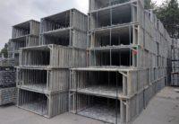 Gebrauchtes 459m² Hünnebeck Bosta Fassadengerüst inkl. 3m Stahlböden auf geruest.com kaufen