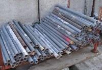 Gerüstrohr Stahl 1,00m gebraucht auf geruest.com kaufen