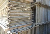 1504 m² gebrauchtes Hünnebeck Schnellbau