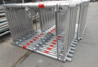 313 m² Stahl-Gerüst von MJ
