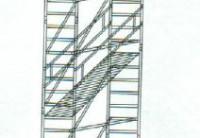 Fahrgerüst mit 9,50m Arbeitshöhe / 1,80x0,75