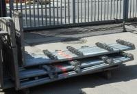 Layher Schutzgitterstütze 2,00m x 0,73m - 10 Stück gebraucht auf geruest.com kaufen