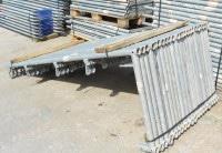 Layher Blitz Schutzgitterstütze 2,00m x 0,73m gebraucht auf geruest.com kaufen