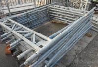 Durchgangsrahmen Stahl für Layher Blitz Gerüst gebraucht auf geruest.com kaufen