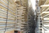 15000m² gebrauchtes Hünnebeck Schnellbau Gerüst