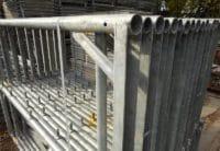 Vertikalrahmen für Hünnebeck Bosta Gerüst gebraucht auf geruest.com kaufen