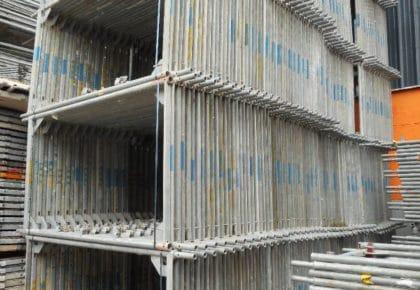 Layher Blitz 105 m² Maurergerüst gebraucht auf geruest.com kaufen