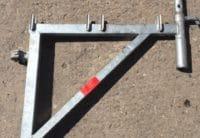 Gebrauchte Plettac SL Konsolen B64 H50 mit Rohrverbinder