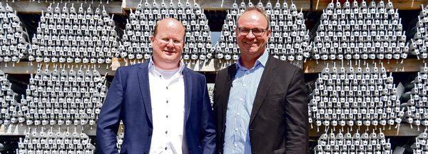 Ulrich Lawory (li.) und Ralf Deitenberg führen gemeinsam die Geschäfte der Altrad plettac assco GmbH.