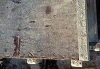 Layher Blitz Robustboden 1,57m mit defekter Platte