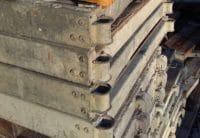 Plettac Durchstieg defekt - als Material für Bastler und Heimwerker