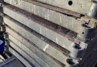 Plettac SL Durchstieg 2,50m mit Leiter, gebraucht reperaturbedürftig