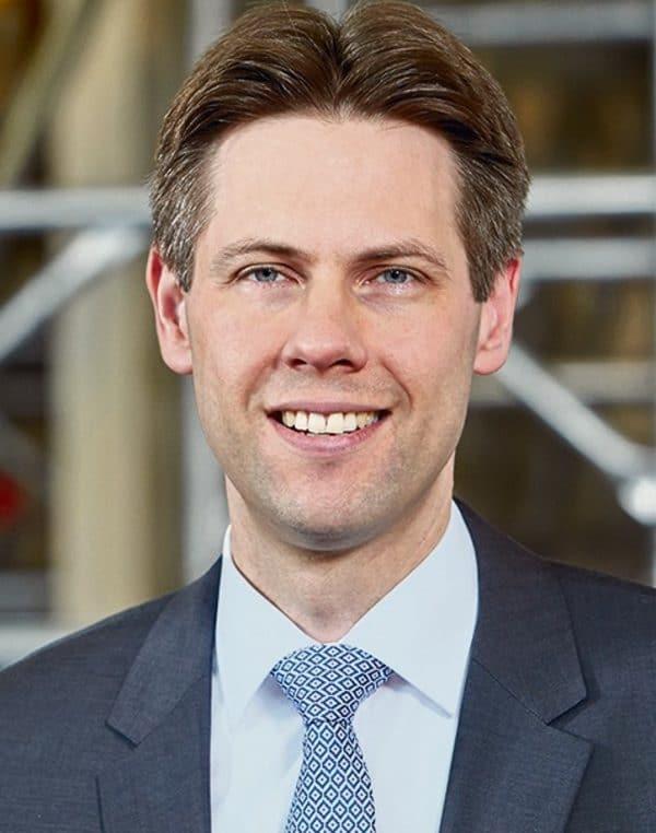 Wolf Christian Behrbohm Geschäftsführer Wilhelm Layher Gerüst zu den Aussichten im Gerüstbau 2018