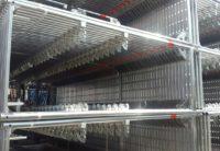 Aluminium Stellrahmen 2m neu