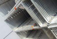 Stellrahmen 2m Aluminium neu