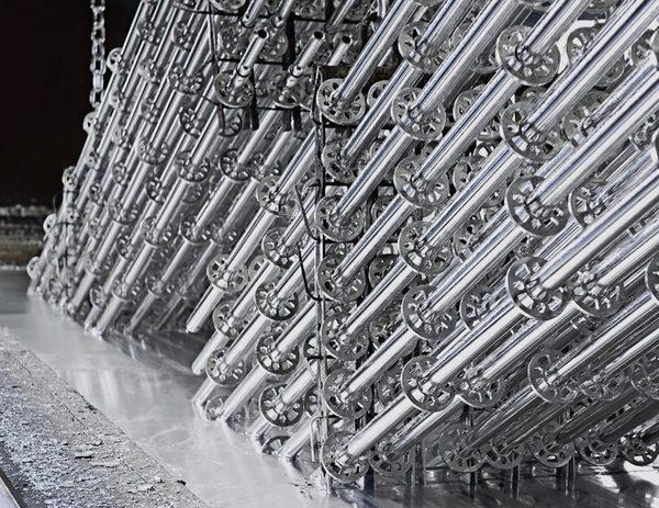 Ausbau der Produktion von Stahlbauteilen Layher plant eine dritte Feuerverzinkerei