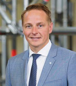 Vorausschauendes Denken im Sinne der Kunden ist das oberste Gebot für Vertriebsleiter Andreas Beck.