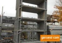 Vertikalrahmen für Hünnebeck Bosta 70 - 200/70 französische Ausführung für Fassadengerüst aus Stahl