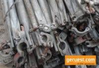 Diagonalen Stahl gebraucht für 327 m² Layher Blitz Gerüst kaufen