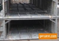 Gerüstrahmen Vertikalrahmen 200 70 gebraucht für 810 qm gebrauchtes Fassadengerüst Hünnebeck Bosta kaufen