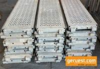 Stahlbeläge 3,07 m gebraucht für 521 m² Layher Blitz Gerüst kaufen