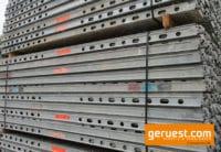Stahlbeläge Gerüstbelag 2,57 gebraucht für 191 m² Layher Blitz Gerüst kaufen
