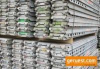 Stahlbelag Gerüstbelag 2,57 gebraucht für 1063 m² Layher Blitz Gerüst kaufen
