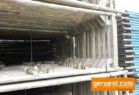 Vertikalrahmen 200-73 gebraucht für 436 qm Layher Blitz Gerüst kaufen
