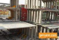Vertikalrahmen gebraucht für 490 qm Layher Blitz Gerüst kaufen geruest.com