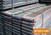 Beläge Gerüstbeläge Stahl gebraucht 3,00 m Plettac SL 70 für 223 qm Gerüst kaufen