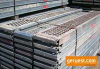 Plettac SL Stahlbeläge 3,00m für 350 m² gebrauchtes Gerüst kaufen