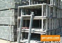 Plettac SL Vertikalrahmen 200_74 für 95 qm Gerüst mit Holzbelägen