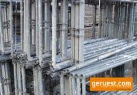 Vertikalrahmen Stellrahmen gebraucht Plettac SL 70 für 286 qm Gerüst kaufen