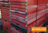 Alu-Rahmentafel SL B64 _ 12,4 qm Plettac SL Alu Gerüst mit 2,00 m Alurahmentafeln mit Sperrholzbelag