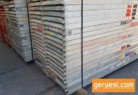 Alu-Rahmentafel SL B64 mit Sperrholz-Belag _ Plettac SL Gerüst 98 qm mit Sperrholzrahmentafeln