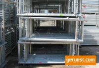 Alu-Vertikalrahmen _ Plettac SL Alu Gerüst 15 qm mit 2,50m Robustböden