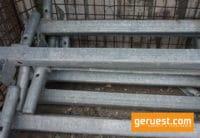 Auflageriegel 0,73 m Stahl mit 4 Bolzen - Layher Gerüstteile