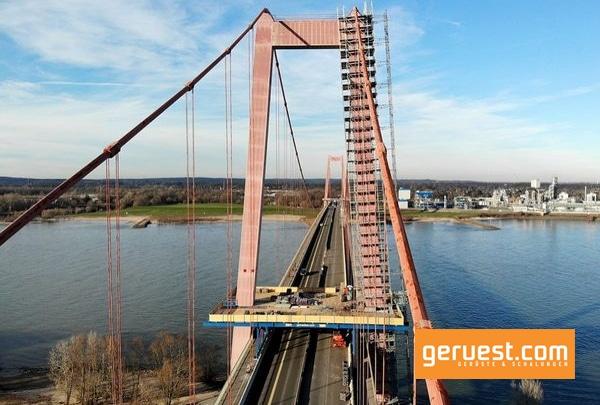 Deutschlands längste Hängebrücke wird bis 2022 saniert