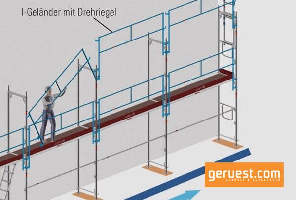 Die-Anforderungen-der-TRBS-2121-1-lassen-sich-mit-dem-systemintegrierten-I-Geländer-für-das-Layher-Blitz-Gerüst-ohne-zusätzlichen-Montageaufwand-erfüllen