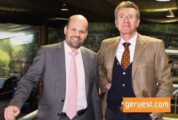 Die Geschäftsführung der Rux GmbH Marco Hiby und Volker Rux