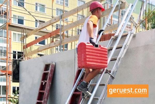 Die Stafe-Steiltreppe wurde von der Berufsgenossenschaft der Bauwirtschaft offiziell als förderfähig anerkannt