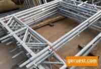 Durchgangsrahmen Stahl 4-bohlig gebraucht - Plettac SL Gerüstteile